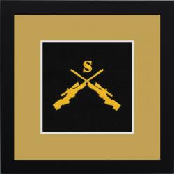 Snipper Framed Badge