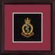 RAMC Framed Badge