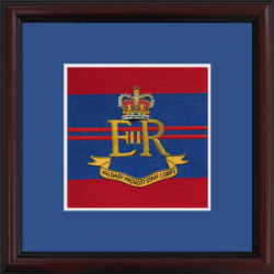 Military Provost Staff Framed Badge