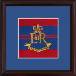 Military Provost Staff Framed Badge