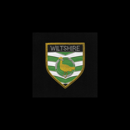 Wiltshire Shield Framed Badge