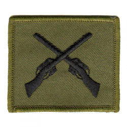 Skill at Arms Qualification Patch Olive