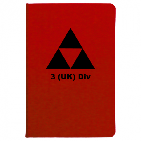 3rd (United Kingdom) Division Notebook