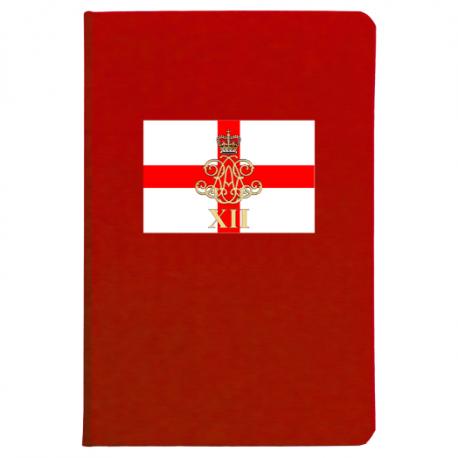 12 Regiment RA Notebook