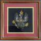 Framed King's Royal Hussars Badge