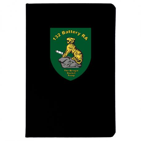 132 Battery (The Bengal Rocket Troop) Notebook