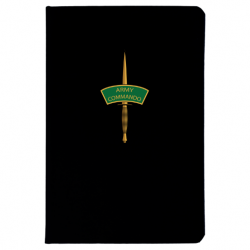 Army Commando Notebook