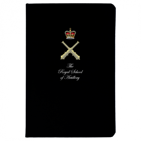 Royal School of Artillery Notebook