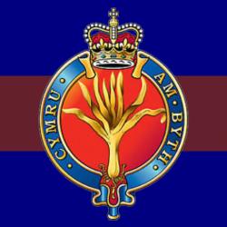 Welsh Guards Window Sticker