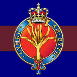 Welsh Guards Window Cling