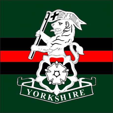 The Yorkshire Regiment Window Cling
