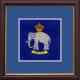 10 (Assaye) Battery Framed Badge