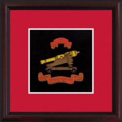 22 (Gibraltar 1779–83) Battery Framed Badge