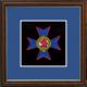 31 (Headquarters) Battery Framed Badge