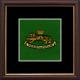 34 (Seringapatam) Battery Framed Badge