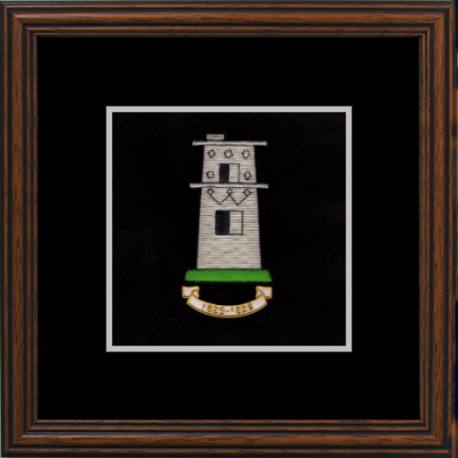 57 (Bhurtpore) Battery Framed Badge