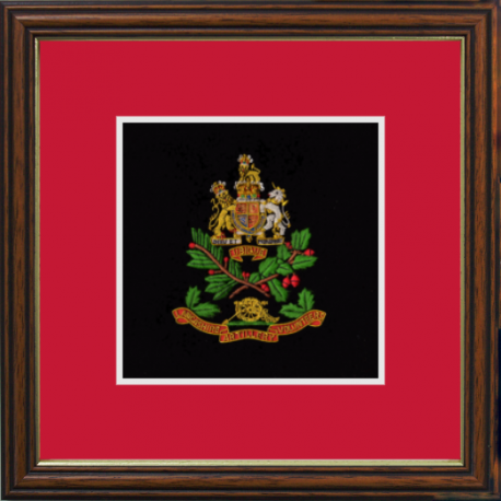RSA Mess Framed Badge