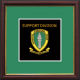 ARRC Support Division Framed Badge
