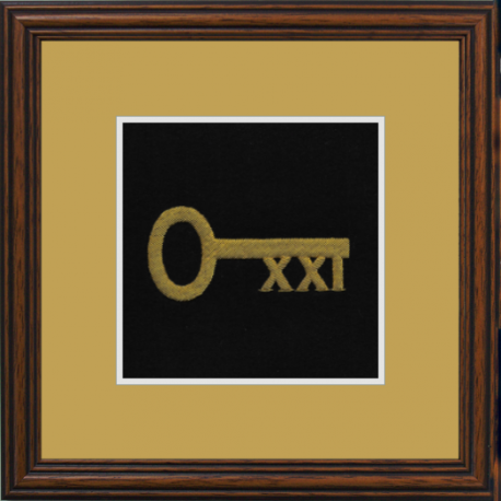 21 Squadron RLC Framed Badge