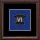 6 Battalion REME Framed Badge