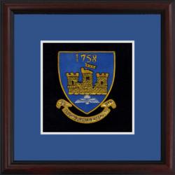 53 (Louisburg) Battery Framed Badge