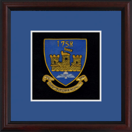 53 (Louisburg) Battery Framed Badge