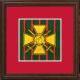 5 (Gibraltar 1779-1783) Battery Framed Badge