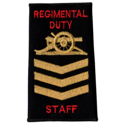 Regimental Duty Staff Rank Slide