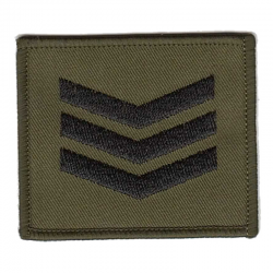 Smock Rank Patch Olive