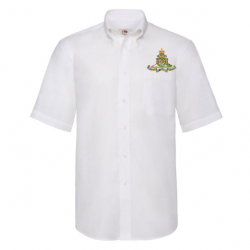 Artillery Short Sleeved Oxford Shirt