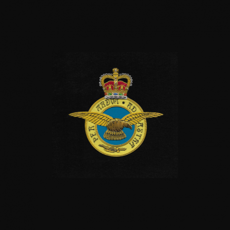 RAF Framed Badge