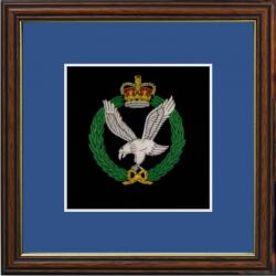 Army Air Corps Framed Badge