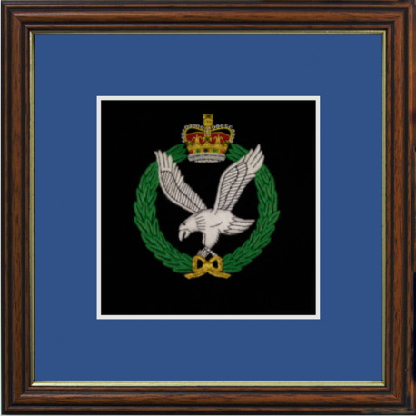Army Air Corps Framed Badge