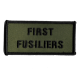 First Fusiliers Patch