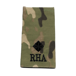 RHA Officer Rank Slide Multicam