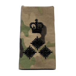 Officer Rank Slides Multicam