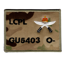 Gurkha Zap Patch