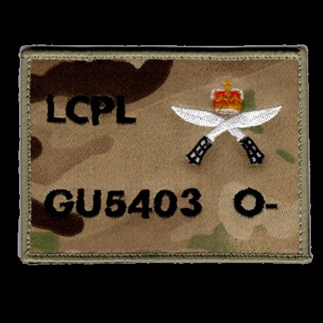 Gurkha Zap Patch