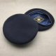 Silk Lined Navy Beret