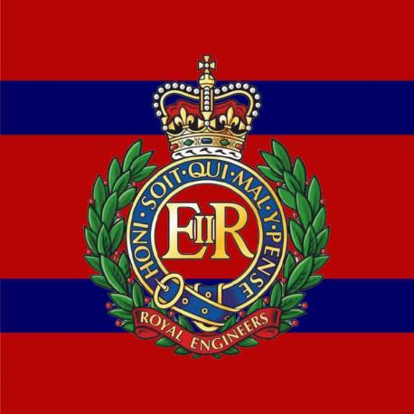 Royal Engineers vinyl sticker personalised free..