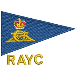 Royal Artillery Yacht Club Fleece