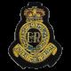 1st RHA Cloth Beret Badge