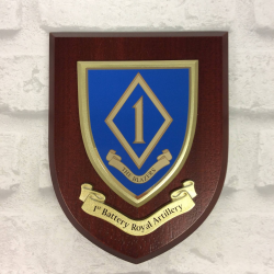 1st Battery (The Blazers) Wall Shield
