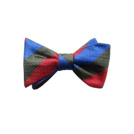 Royal Welsh Bow Tie Silk