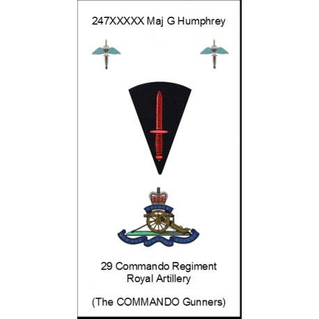29 Commando Regt Port