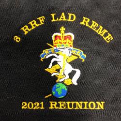 3 RRF LAD REME  Reunion Polo Shirt