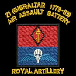21 (Gibraltar 1779-83) Air Assault Battery Polo Shirt