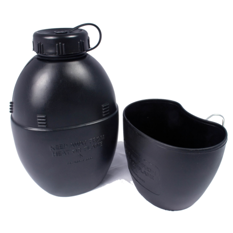 58 Patt Water Bottle & Cup