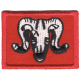 1 Arty Brigade Patch Red