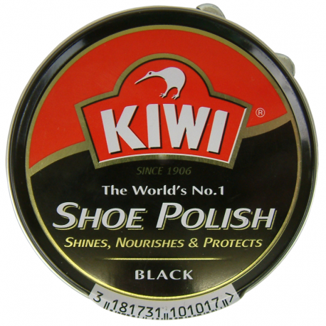 Kiwi Boot Polish Black